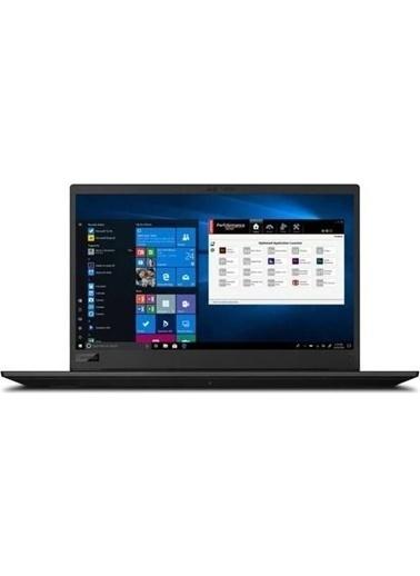 "Lenovo Lenovo Thinkpad P1 Gen3 20TH0016TXZ5 i9 10885H 64GB 512GB SSD T2000 W10P 15.6"" UHD Renkli"